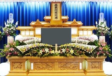 白木生花祭壇