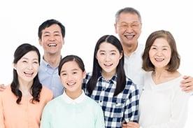 家族と一緒に、葬儀を計画できる。